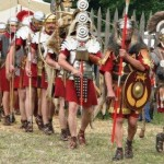Marching Roman Soldiers